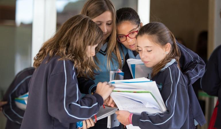 La vida en Educación Primaria en Urdaneta