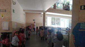 Simulacro de evacuación Ed. Infantil