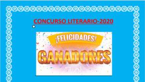 Ganadores III Concurso Literario Urdaneta