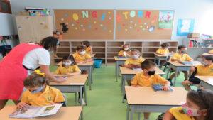 """1º Día colegio """"Covid"""" en Urdaneta-Primaria"""