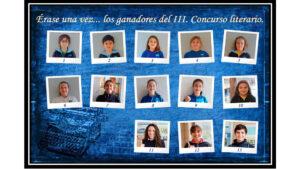 Entrega de premios Concurso Literario