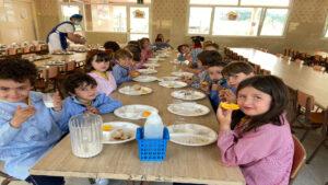 Desayuno Saludable en Infantil